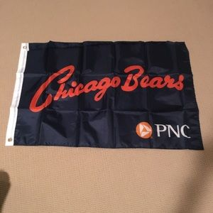 Chicago Bears flag and pin